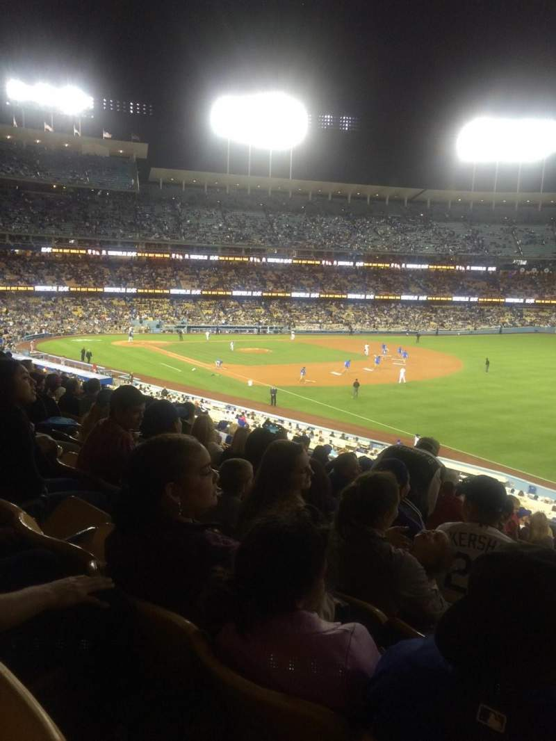 Seating view for Dodger Stadium Section 158LG Row N Seat 16