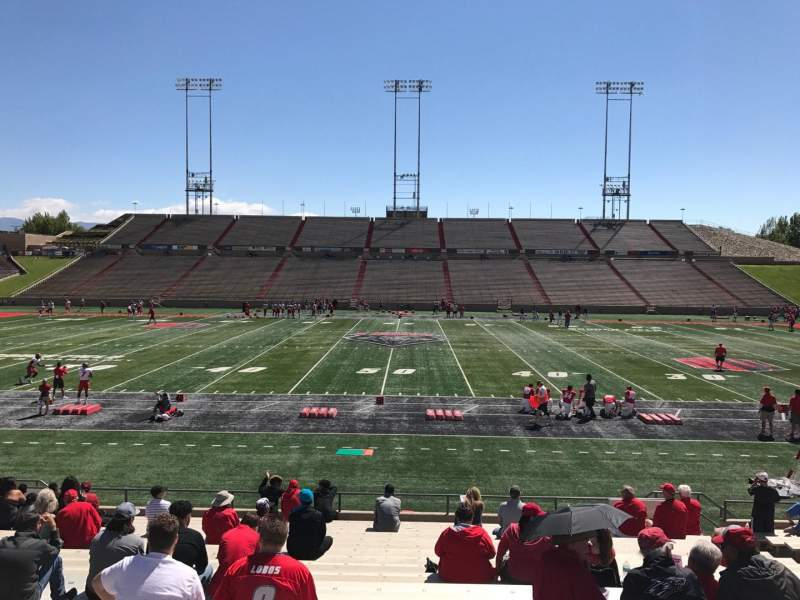 Seating view for Dreamstyle Stadium Section E Row 22 Seat 12