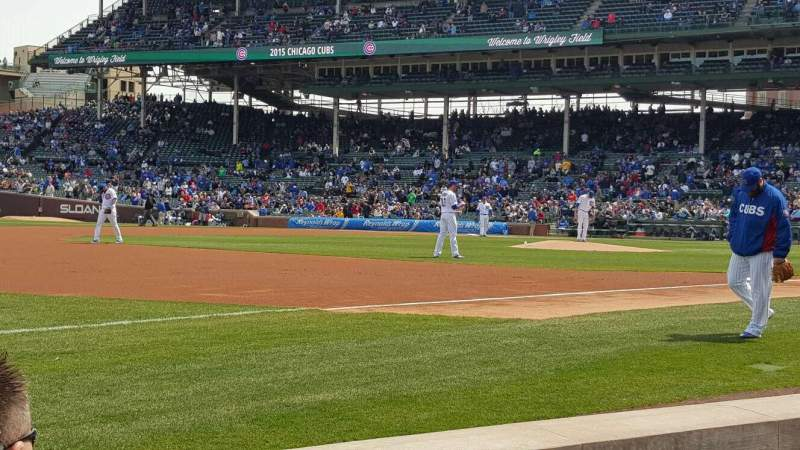 Seating view for Wrigley Field Section BPN 9 Row C Seat 101