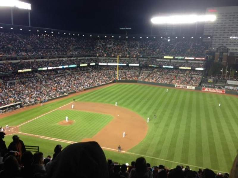 Seating view for Oriole Park at Camden Yards Section 316 Row 16 Seat 11, 12