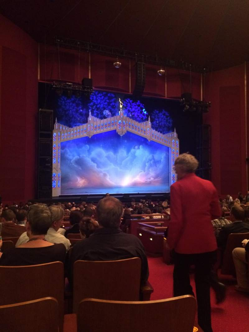 The Kennedy Center Opera House, section: Orch, row: AA, seat: 3