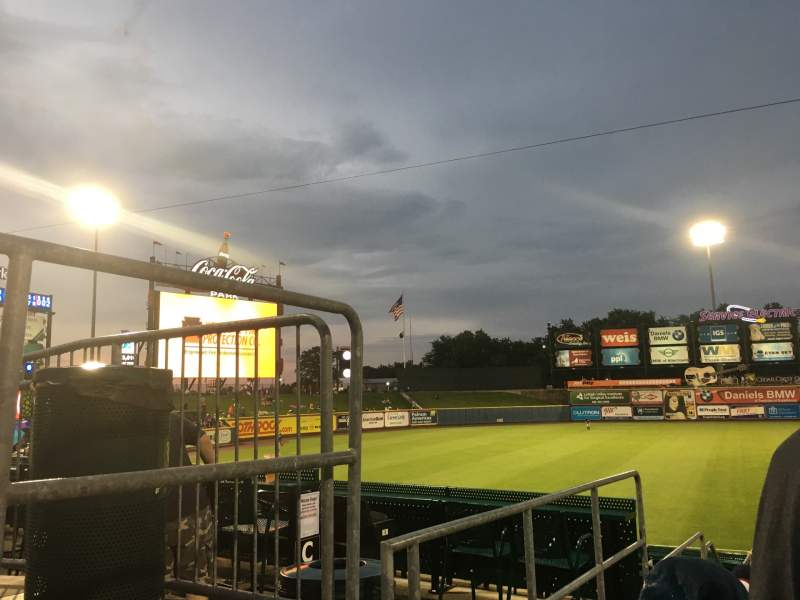 Seating view for Coca-Cola Park Section 120 Row T Seat 2