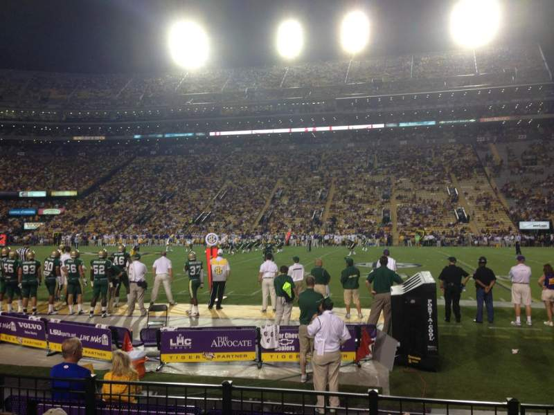 Seating view for Tiger Stadium Section 305 Row 5 Seat 3