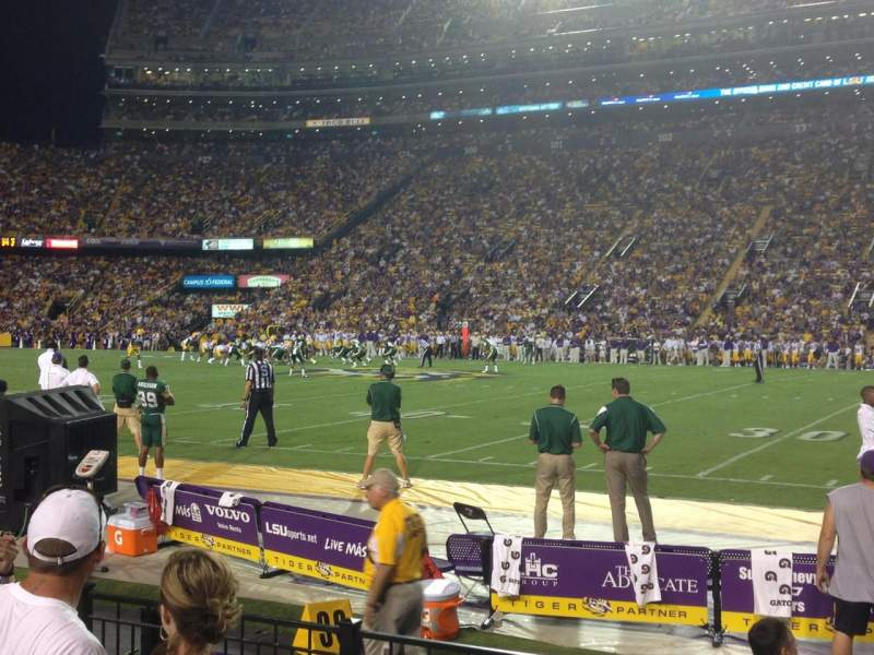Seating view for Tiger Stadium Section 302 Row 5 Seat 3