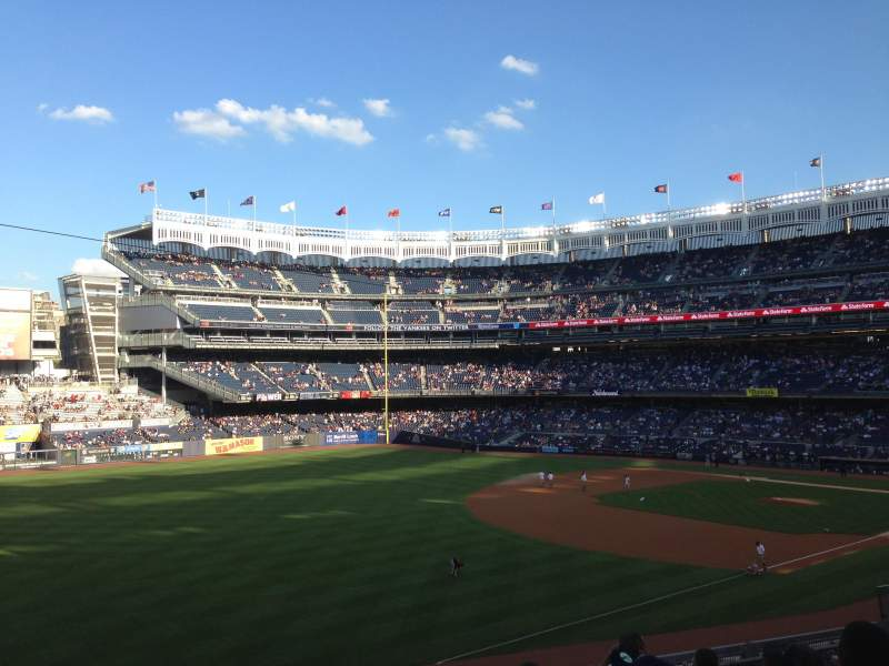 Seating view for Yankee Stadium Section 229 Row 7 Seat 13