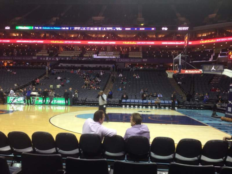 Seating view for Spectrum Center Section 113 Row A Seat 11