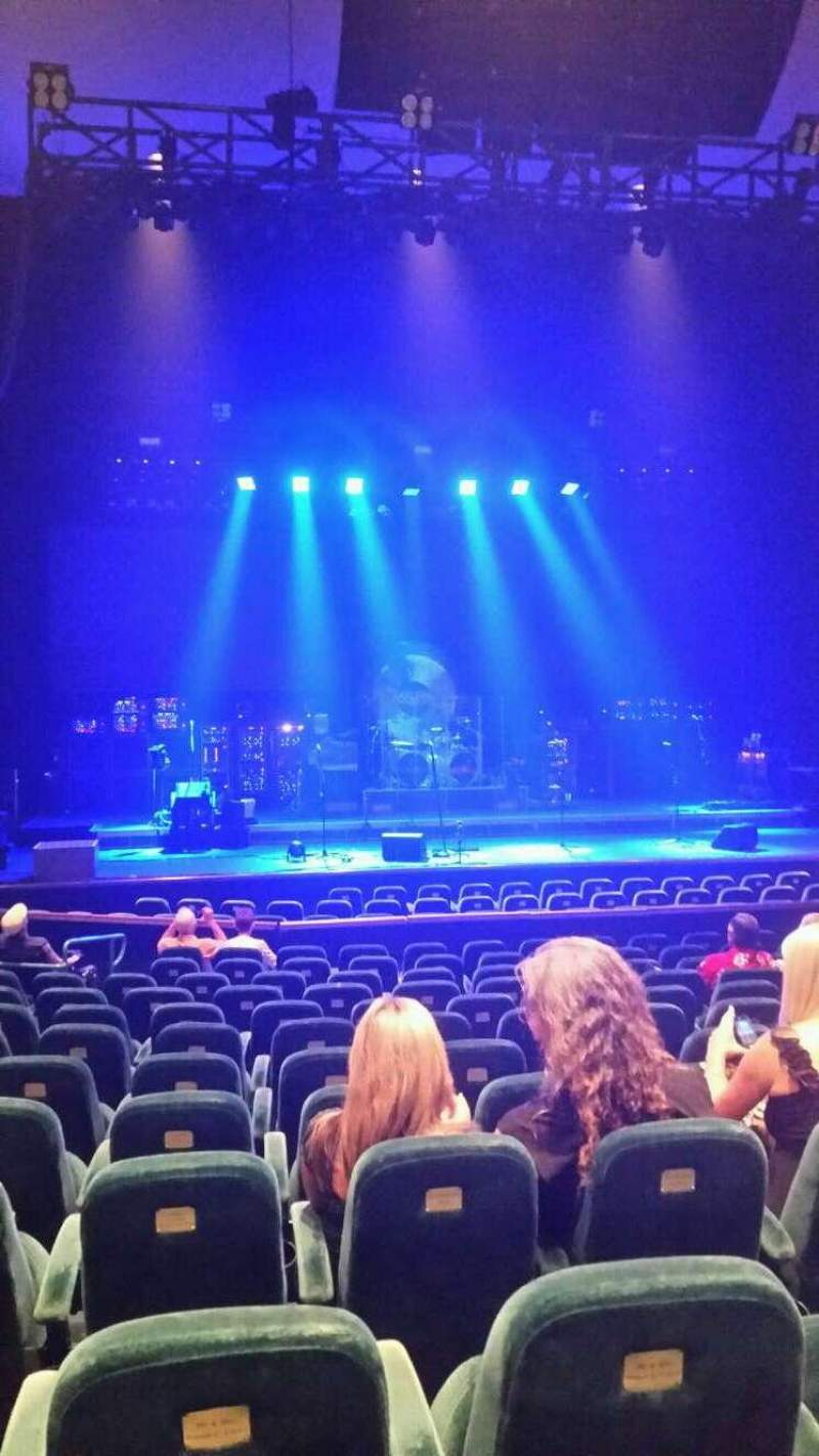 Seating view for Ruth Eckerd Hall Section 5 Row p Seat 38