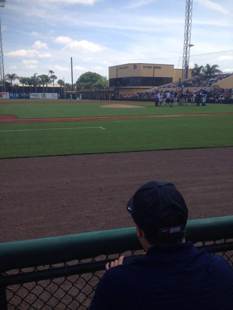 Seating view for Joker Marchant Stadium Section 111 Row Ee Seat 5