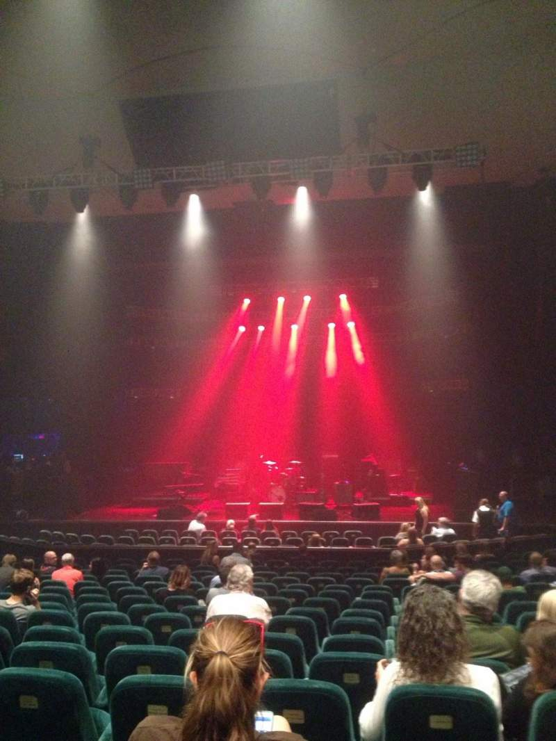 Seating view for Ruth Eckerd Hall Section 6 Row S Seat 25