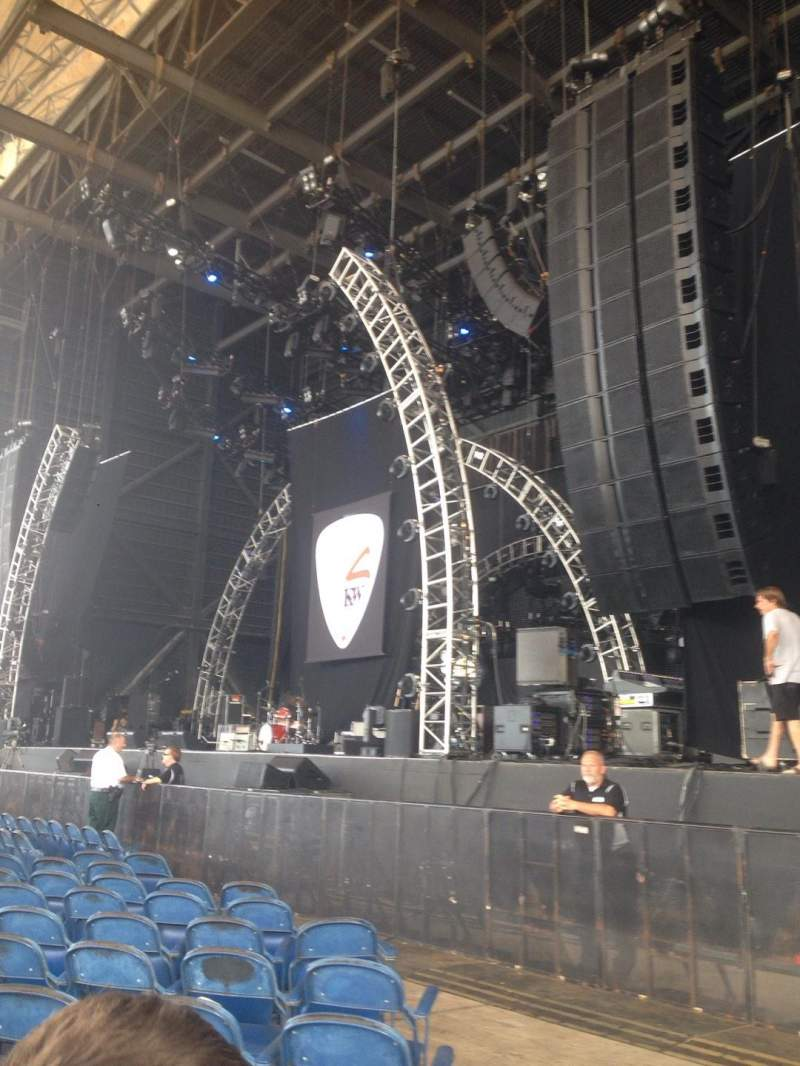 Seating view for MidFlorida Credit Union Amphitheatre Section 3 Row Q Seat 25