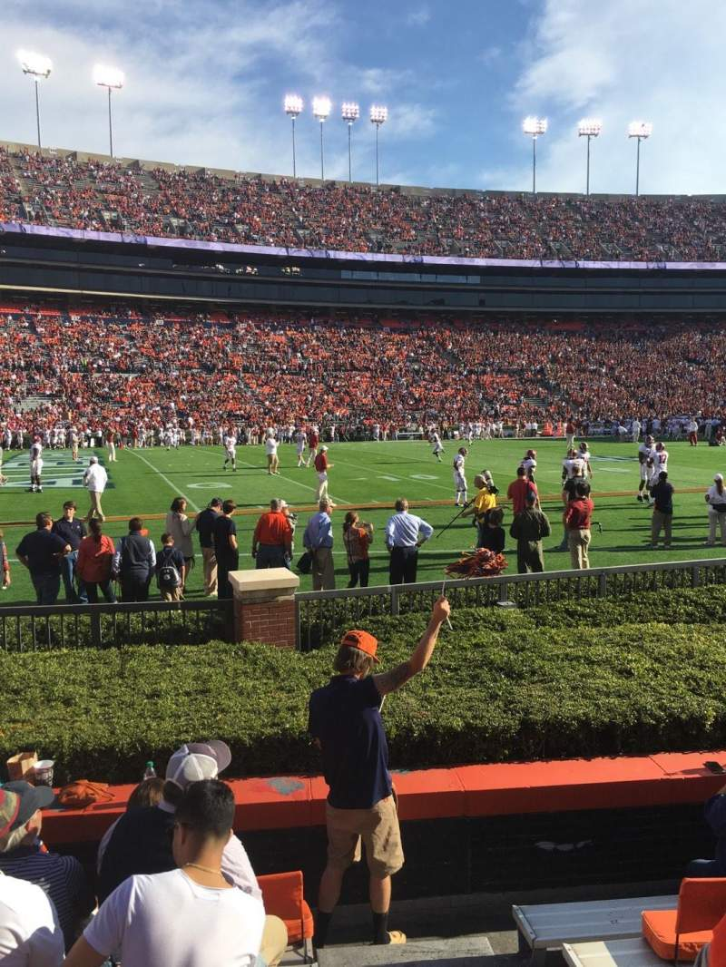 Seating view for Jordan-Hare Stadium Section 1 Row 7 Seat 1