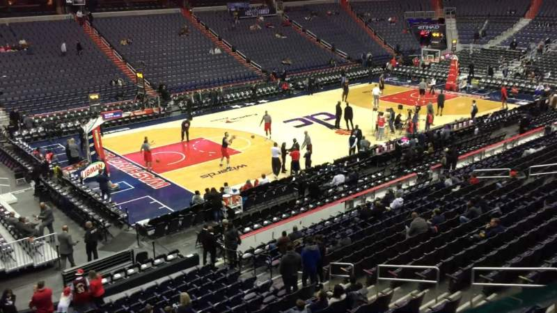 Seating view for Capital One Arena Section 226 Row A Seat 8