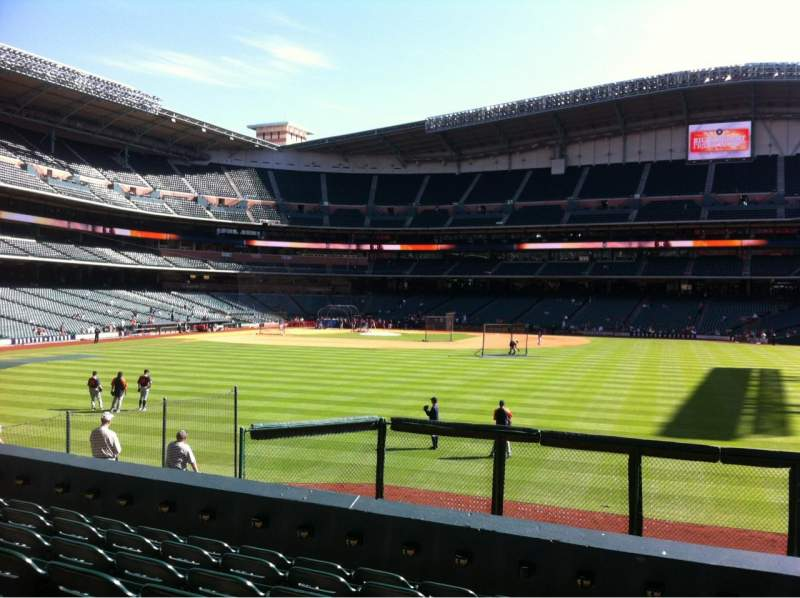 Seating view for Minute Maid Park Section 155 Row 14 Seat 22