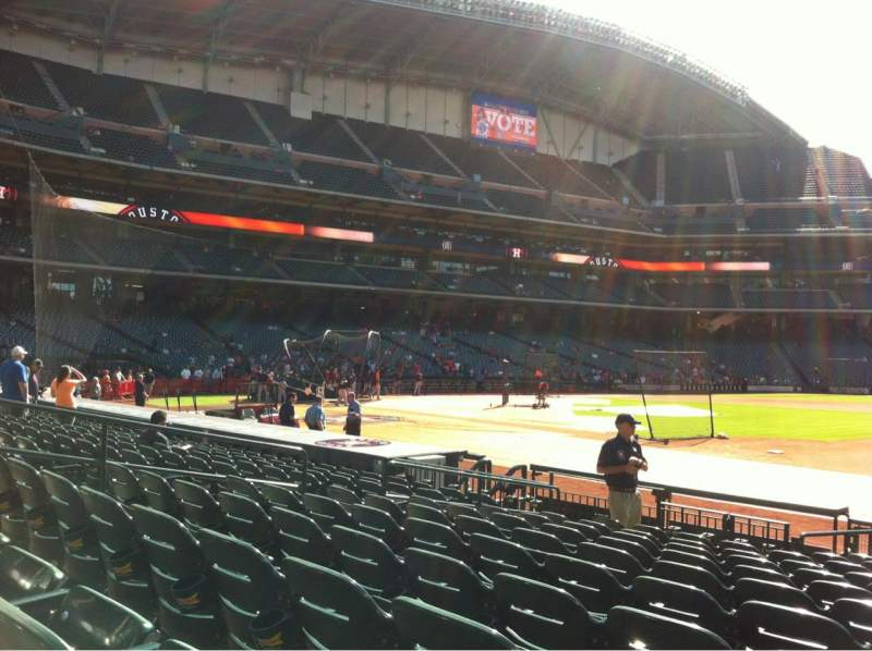 Seating view for Minute Maid Park Section 127 Row 14 Seat 12