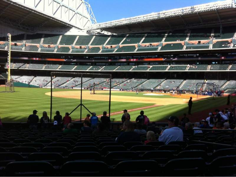 Seating view for Minute Maid Park Section 106 Row 16 Seat 18