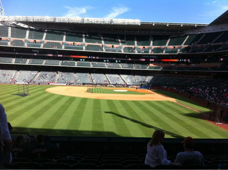 Seating view for Minute Maid Park Section 102 Row 9 Seat 5