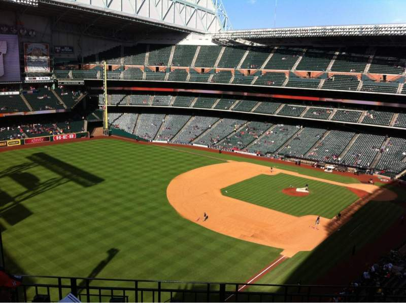 Seating view for Minute Maid Park Section 405 Row 4 Seat 6