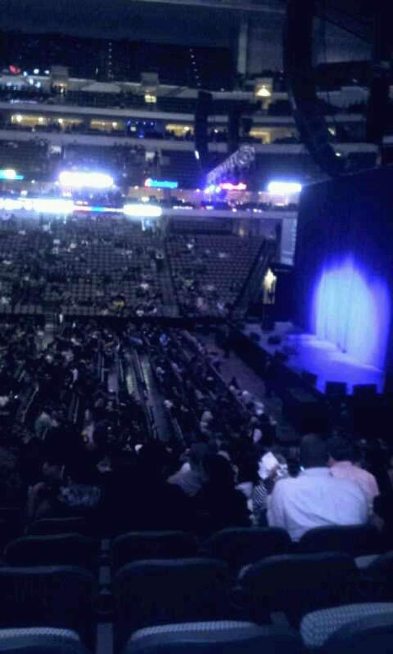 American Airlines Center Section 105 Home Of Dallas