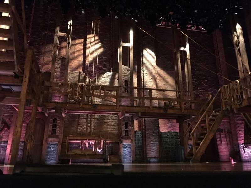 Seating view for Richard Rodgers Theatre Section Orchestra C Row CC Seat 111 And 11