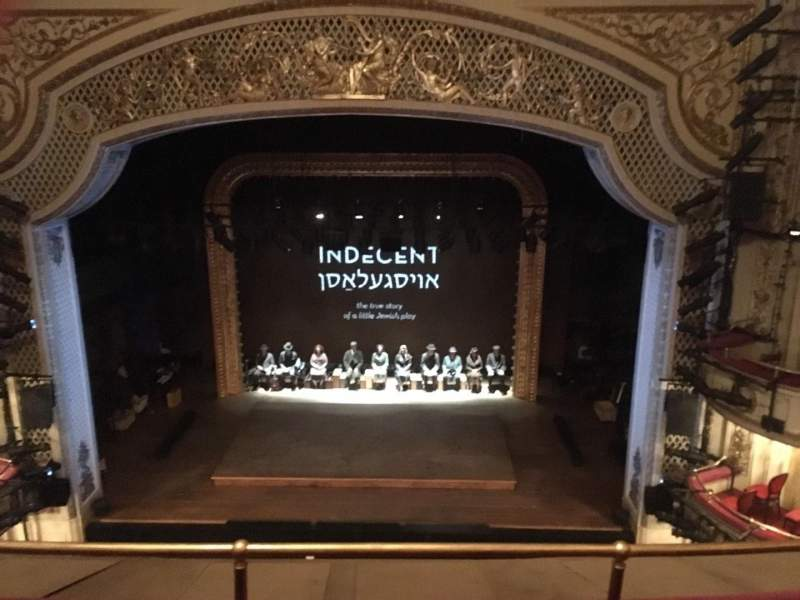 Seating view for Cort Theatre Section BALCC Row C Seat 109 And 11
