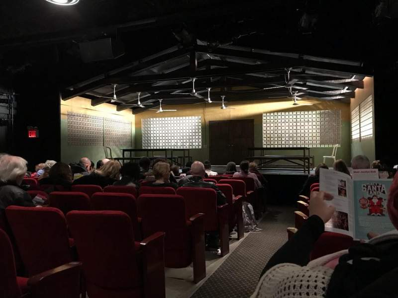 Seating view for Lucille Lortel Theatre Section ORCR Row J Seat 2,4 And 6