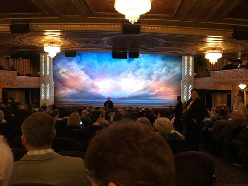 Seating view for Eugene O'Neill Theatre Section Standing Room Row None Seat 101 And 102