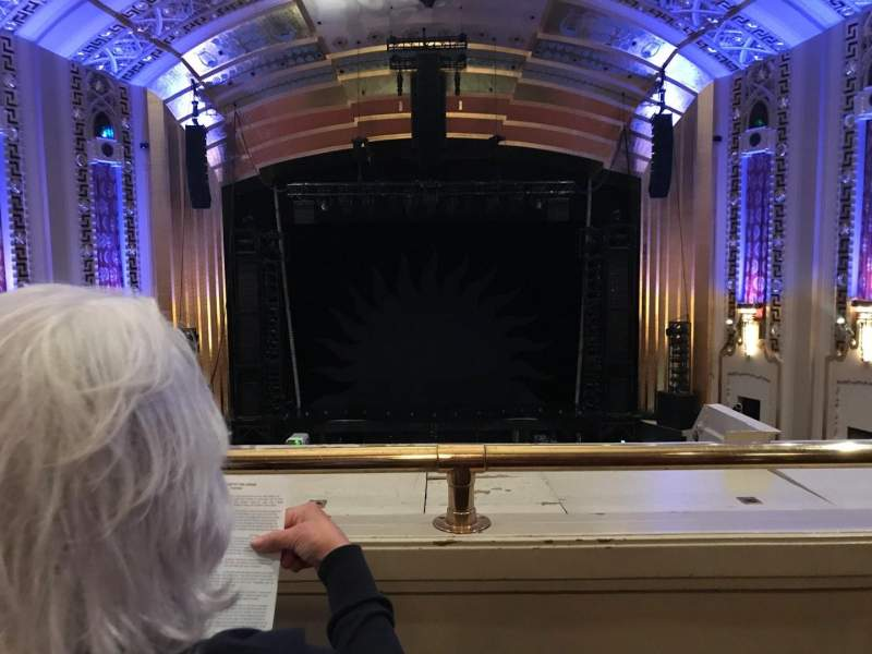 Seating view for The Bushnell Center for the Performing Arts - Mortensen Hall Section Mezzanine D Row D Seat 307 And 308
