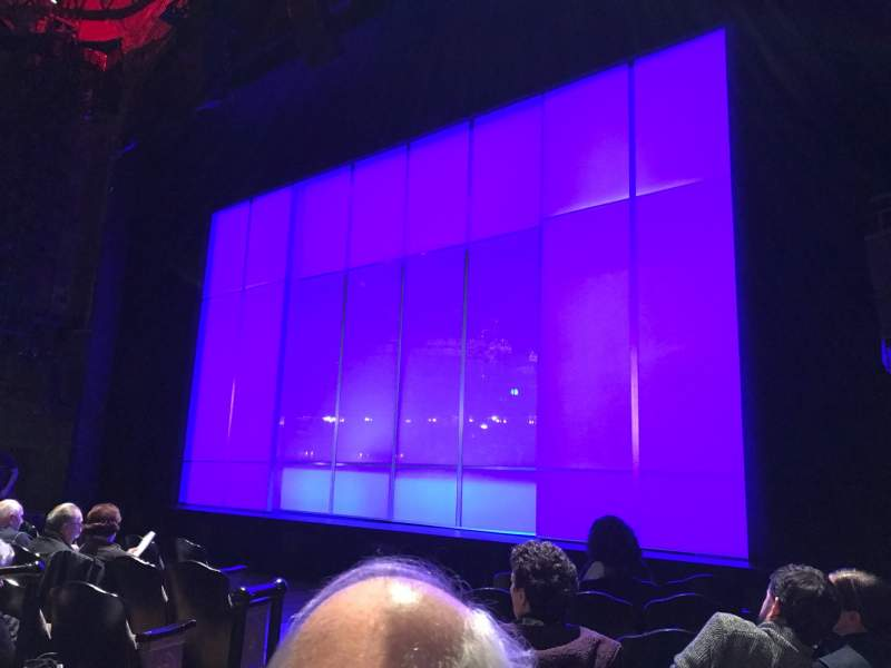 Seating view for Studio 54 Section ORCR Row F Seat 6 And 8