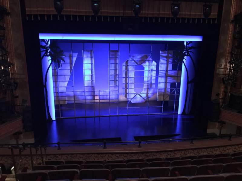 Seating view for Nederlander Theatre Section MEZZC Row G Seat 112 And 113