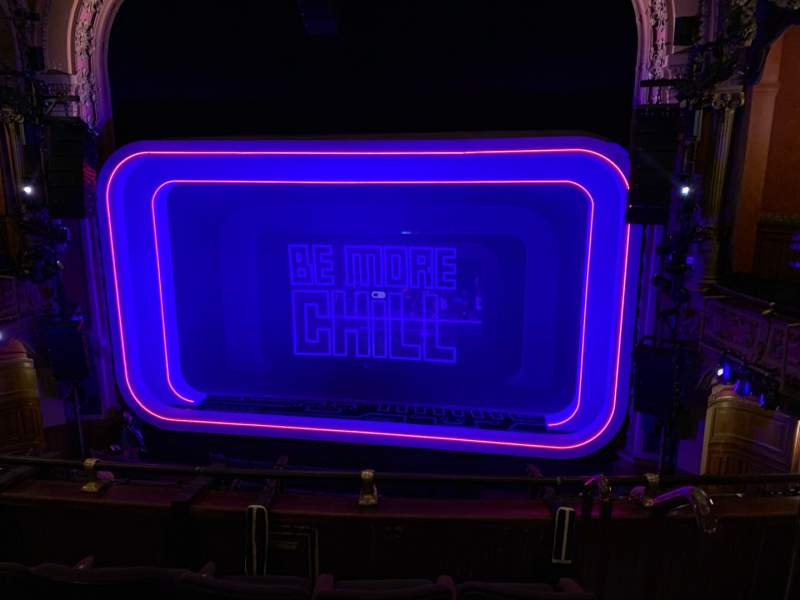 Seating view for Lyceum Theatre (Broadway) Section MEZZC Row D Seat 101 And 102