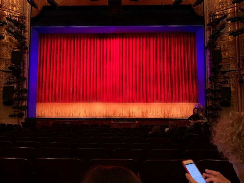 Seating view for Longacre Theatre Section Orchestra C Row N Seat 106 And 107