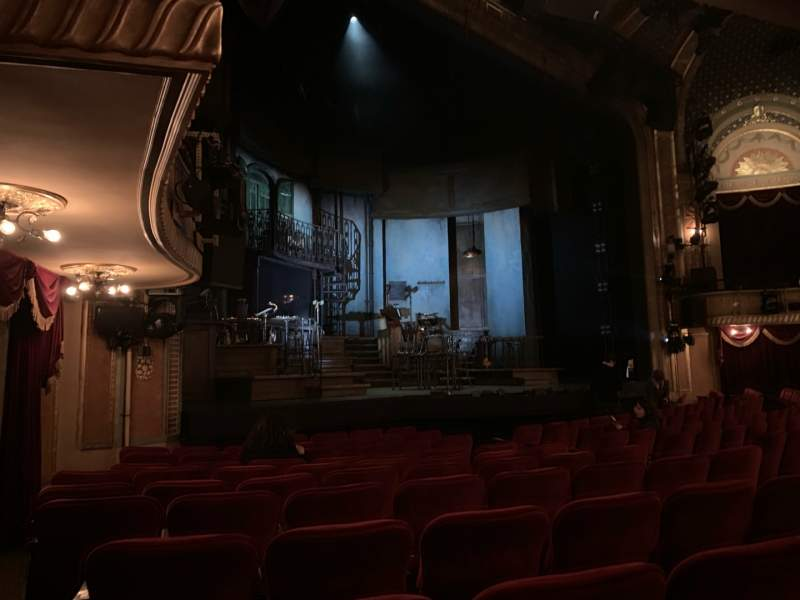 Seating view for Walter Kerr Theatre Section ORCL Row M Seat 19 And 21