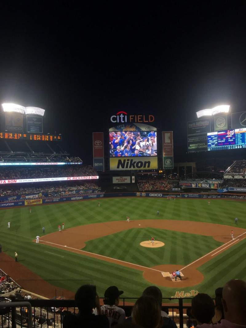 Seating view for Citi Field Section 320 Row 5 Seat 10