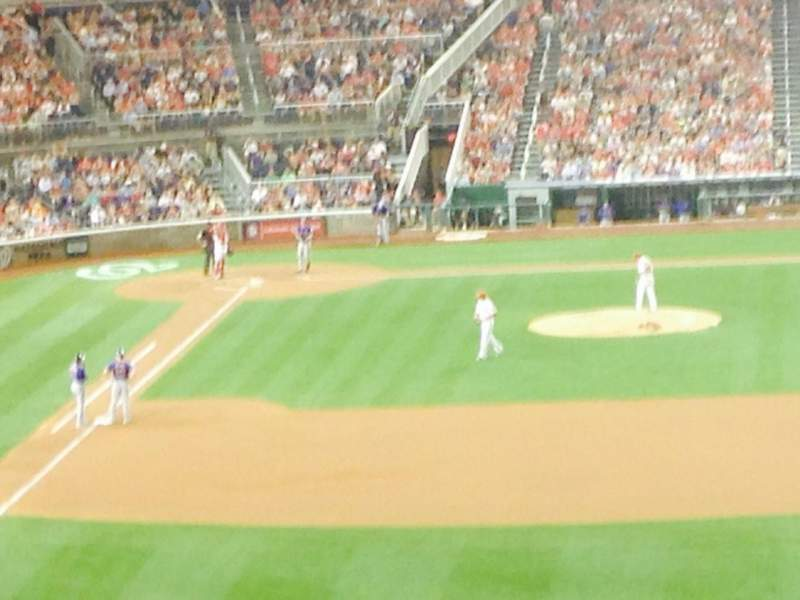 Seating view for Nationals Park Section 238 Row H Seat 14