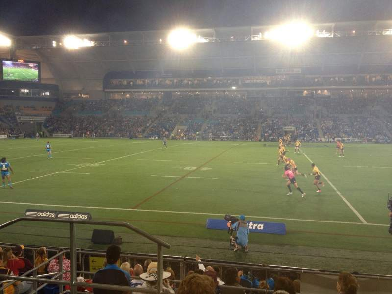 Seating view for Robina Stadium Section 22 Row 10 Seat 35