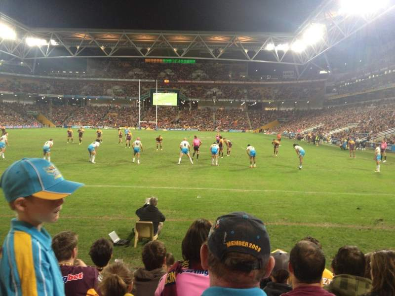 Seating view for Suncorp Stadium Section 333 Row 7 Seat 57