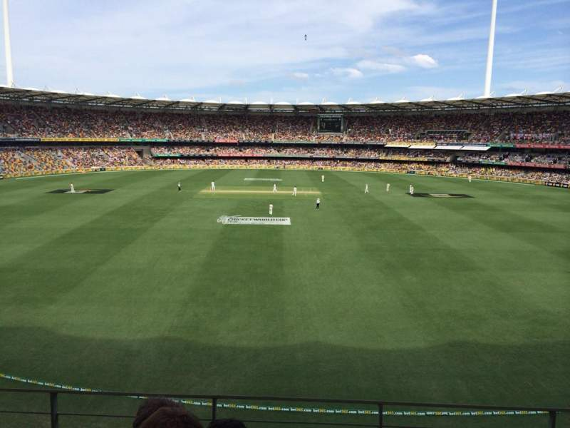 Seating view for The Gabba Section 76 Row DD Seat 413