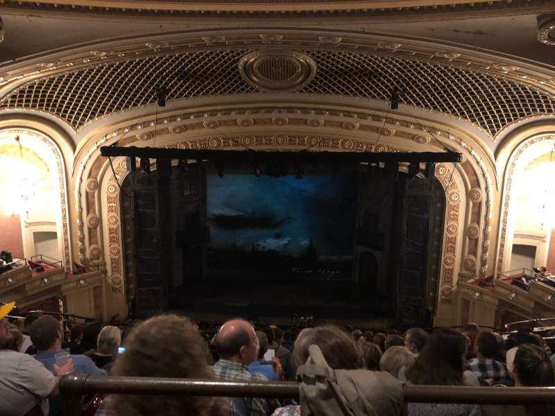 Seating view for Tivoli Theatre Section UBC Row H Seat 109