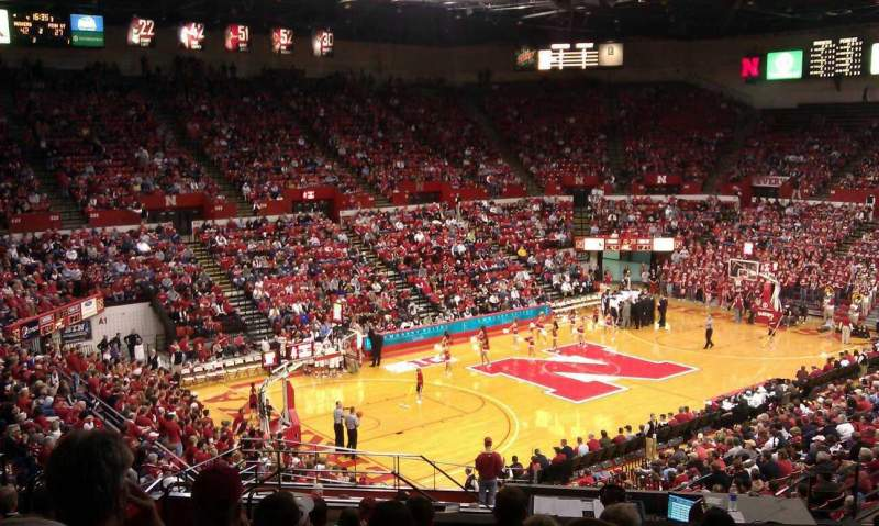 Seating view for Bob Devaney Sports Center Section c19 Row 19