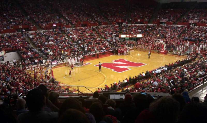 Seating view for Bob Devaney Sports Center Section c15 Row 19 Seat 16