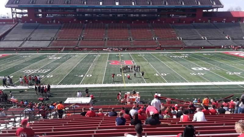 SHI Stadium, section 126, row 31, seat 14 - Rutgers ...