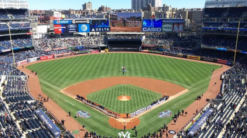 Seating view for Yankee Stadium Section 420B Row 5 Seat 10