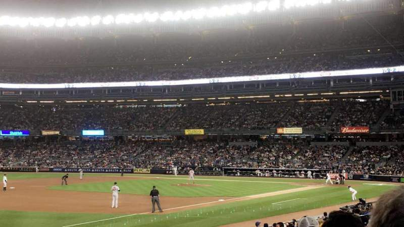 Seating view for Yankee Stadium Section 128 Row 6 Seat 9
