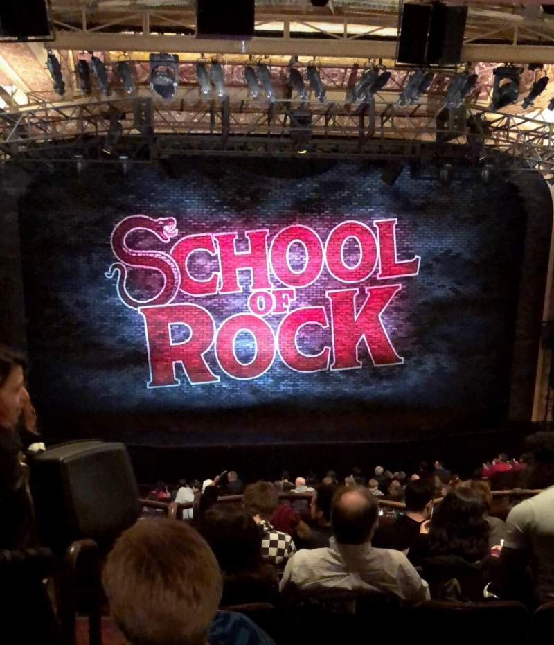 Seating view for Winter Garden Theatre Section Mezzanine RC Row G Seat 102
