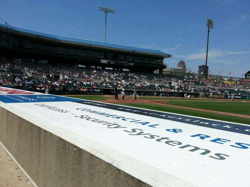 Seating view for Principal Park Section S Row 3 Seat 4