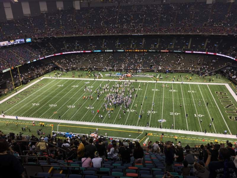 Seating view for Mercedes-Benz Superdome Section 612 Row 33 Seat 13