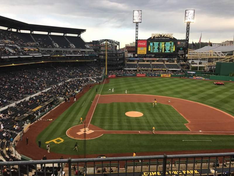 Seating view for PNC Park Section 211 Row C Seat 15