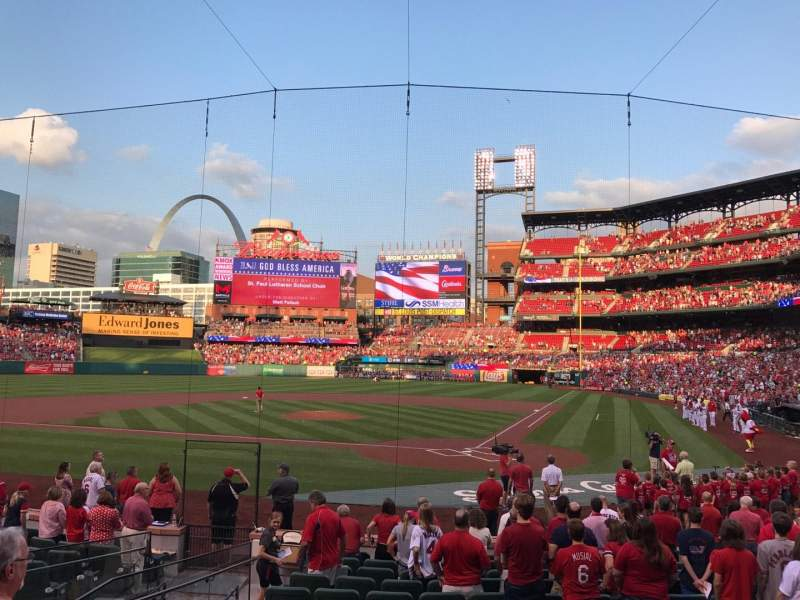 Seating view for Busch Stadium Section 152 Row 4 Seat 10