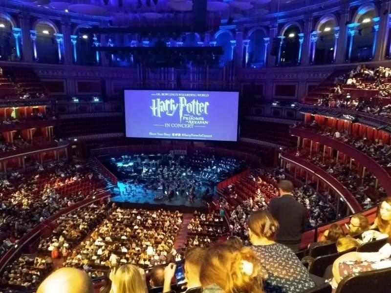 Seating view for Royal Albert Hall Section Rausing Circle U Row 4 Seat 136