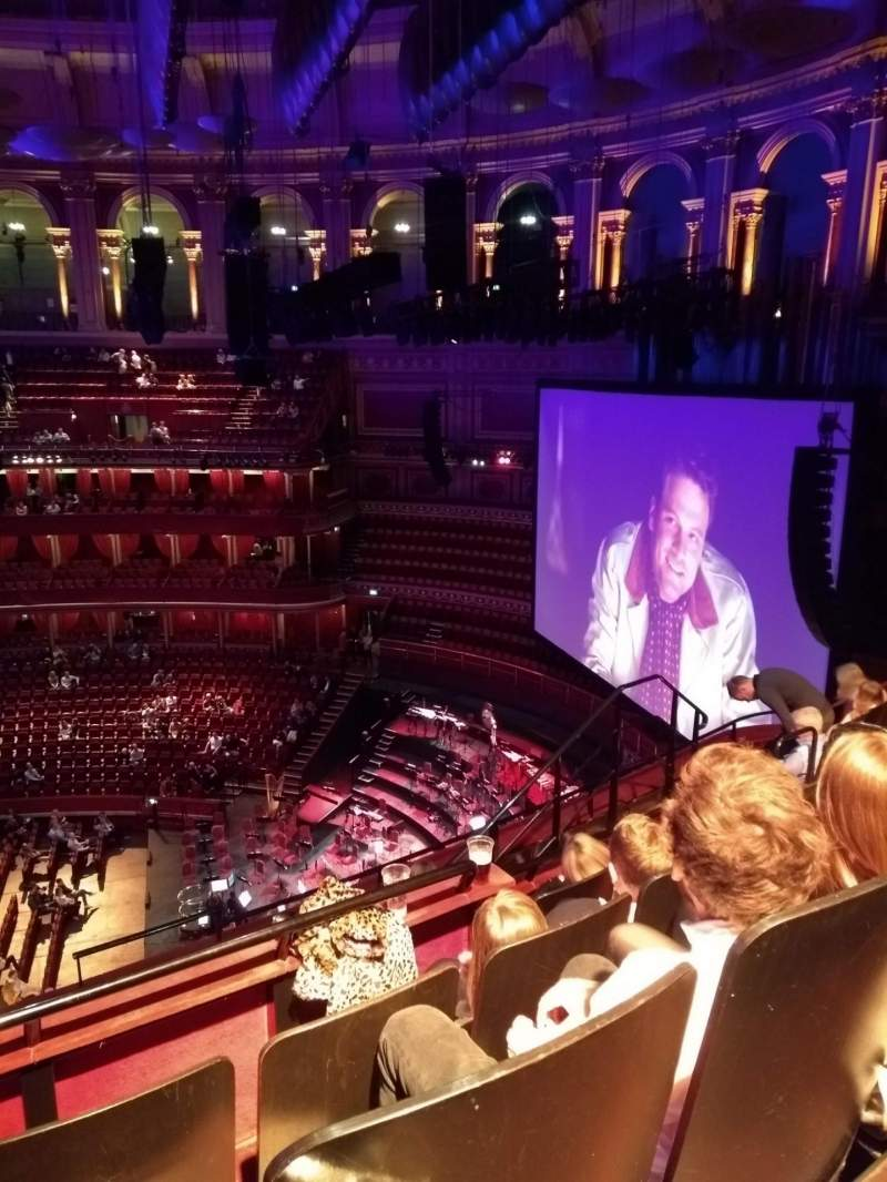 Seating view for Royal Albert Hall Section Rausing Circle Row 6 Seat 231